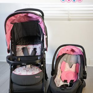 Disney Minnie Mouse Infant Travel System.